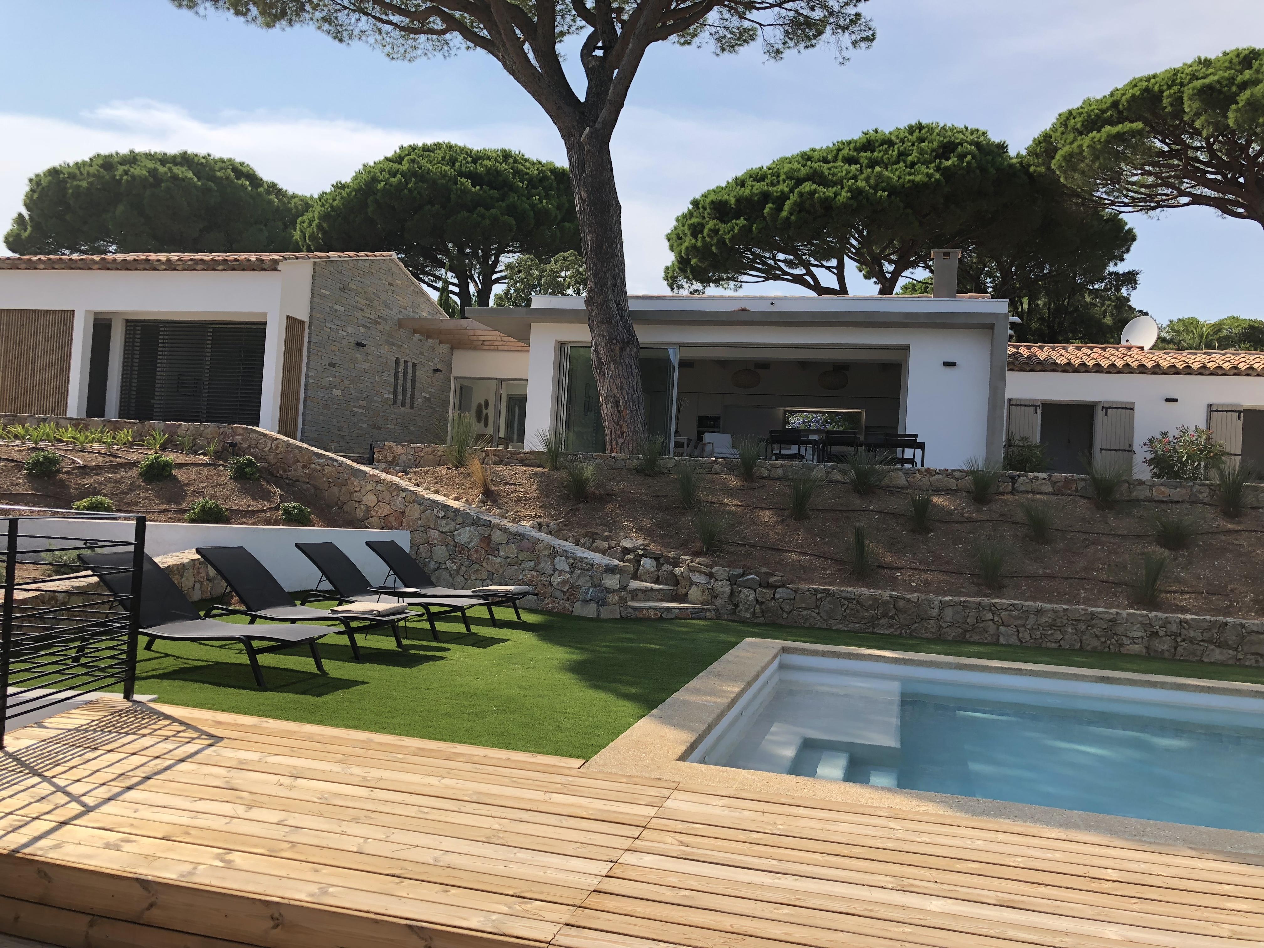 location Villa Sainte Maxime
